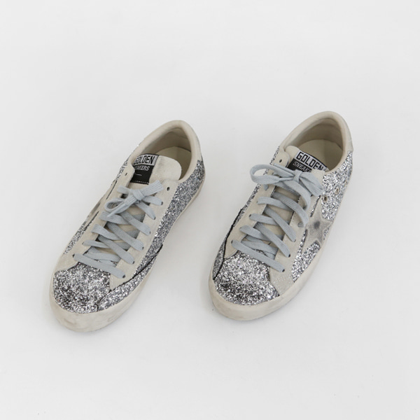 Glittery Low-Cut Sneakers