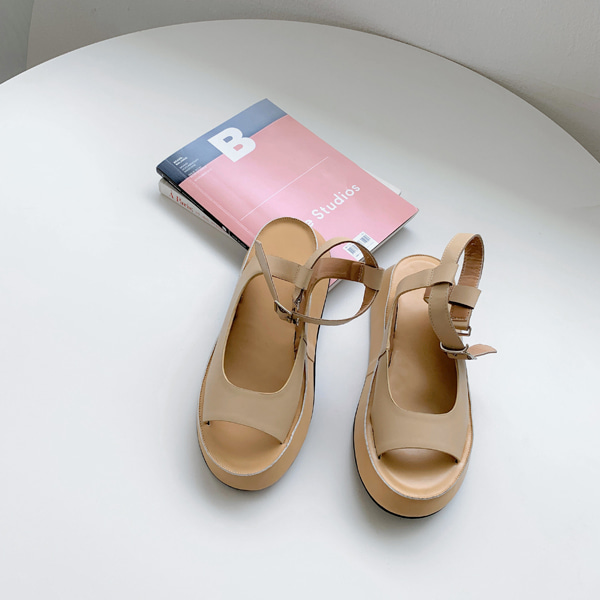 Thick Sole Open Toe Sandals