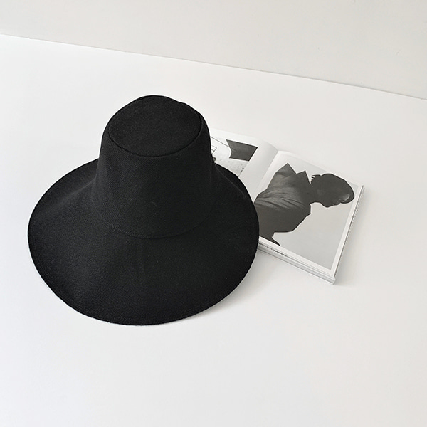 Sloped Brim Solid Tone Hat