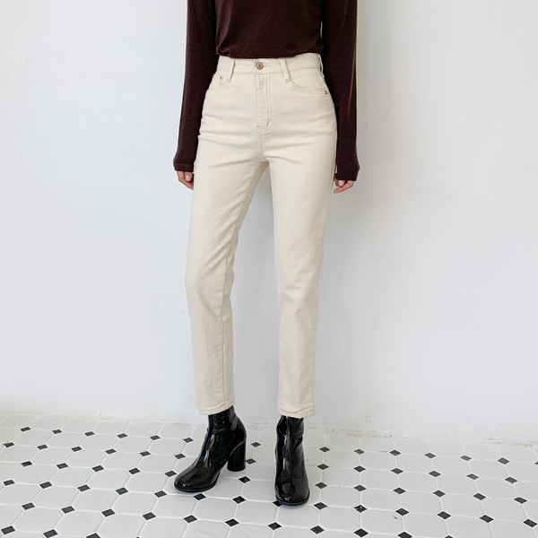 Fleece-Lined Solid Tone Pants