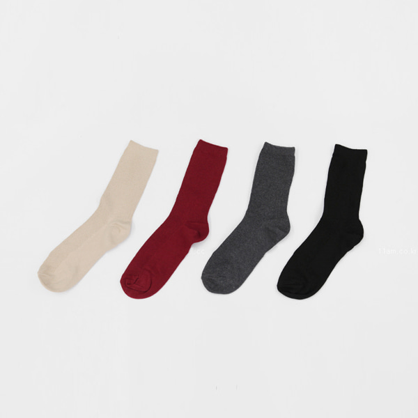 Single Tone Socks