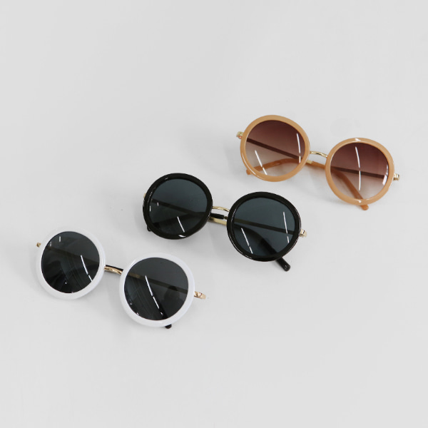 Full Frame Round Sunglasses