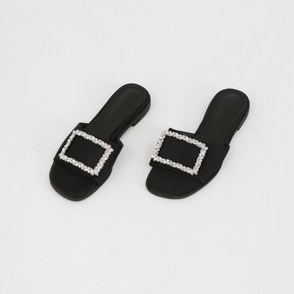 Embellished Upper Slippers
