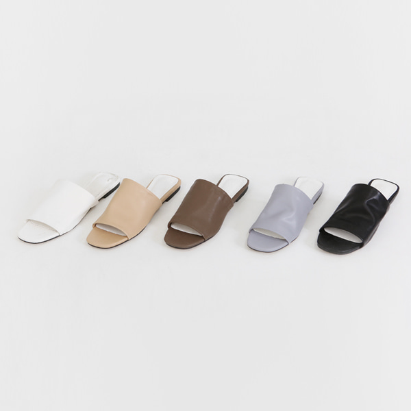 Wide Upper Slider Sandals