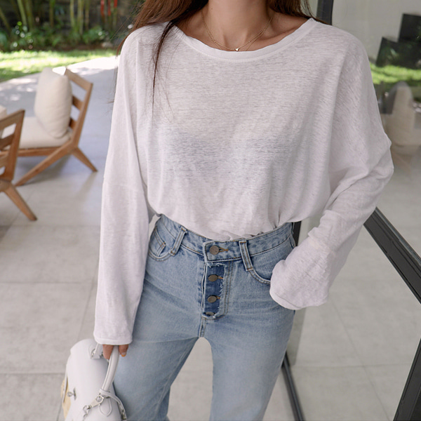 Low Back Loose T-Shirt
