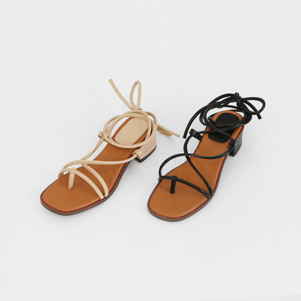 Wraparound Ankle Strap Sandals