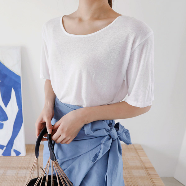 Round Neck Relaxed Fit T-Shirt