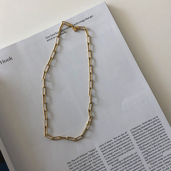 Slim Cable Chain Choker