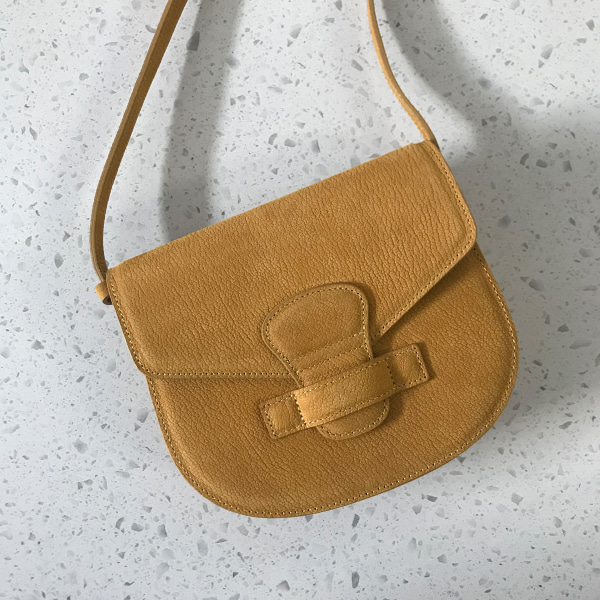 Patch Pocket Saddle Bag